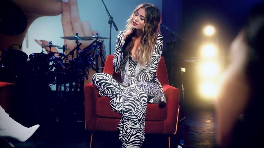 Sofía Reyes: Antes de que saliera 'Idiota' mandé la canción al que la inspiró