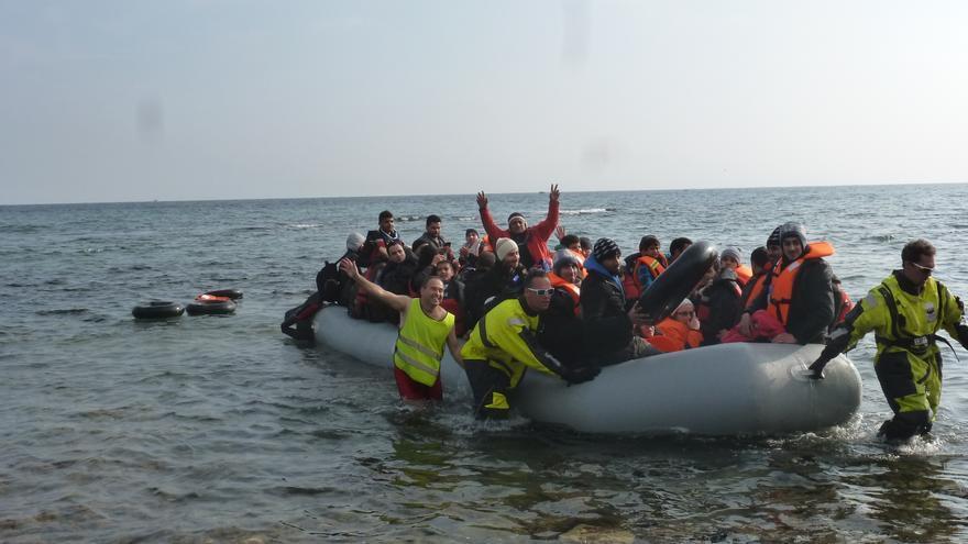 Miles de personas han muerto en el mar como consecuencia de unas políticas europeas más preocupadas por defender sus fronteras que por defender a las personas que huyen de la guerra y la persecución © Private