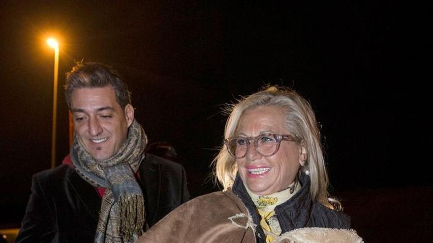 Maite Zaldívar obtiene un permiso para acompañar a su hija hospitalizada