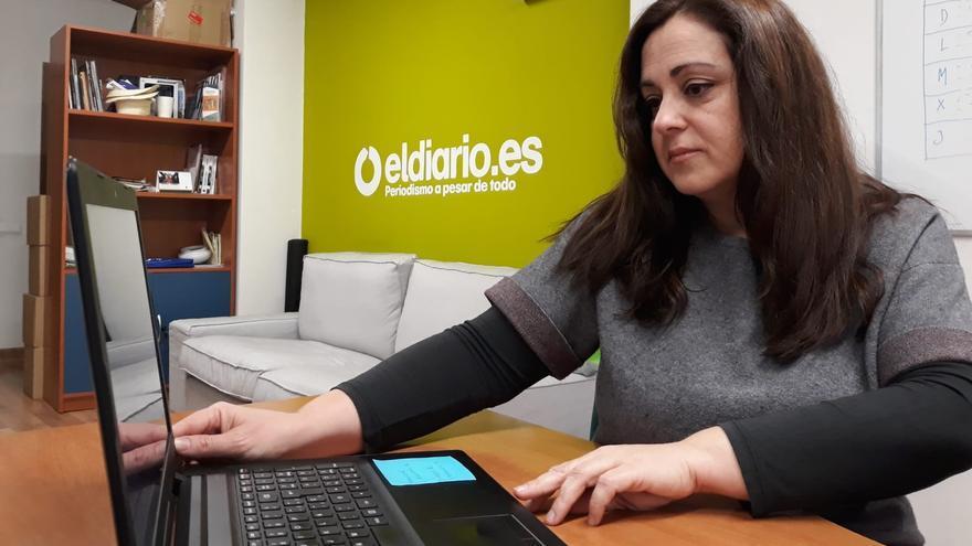 Carmen Bachiller, periodista en eldiarioclm.es