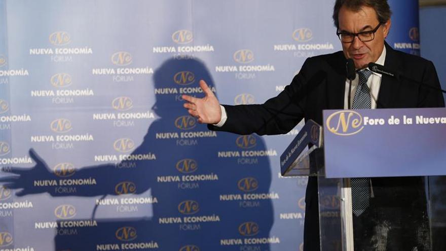"""Mas denuncia una """"operación Cataluña"""" de """"mentiras"""" para destruir soberanismo"""