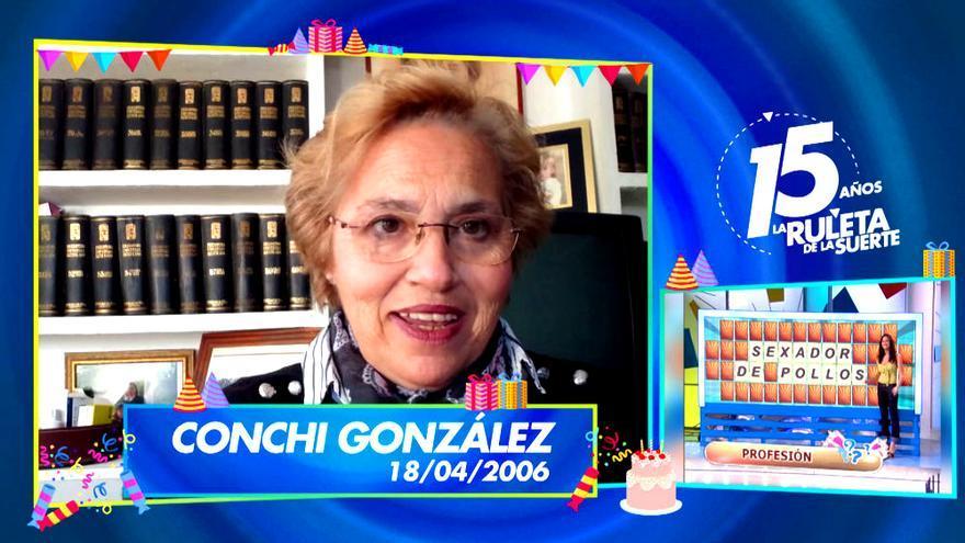 Conchi González, la primera concursante de 'La Ruleta'