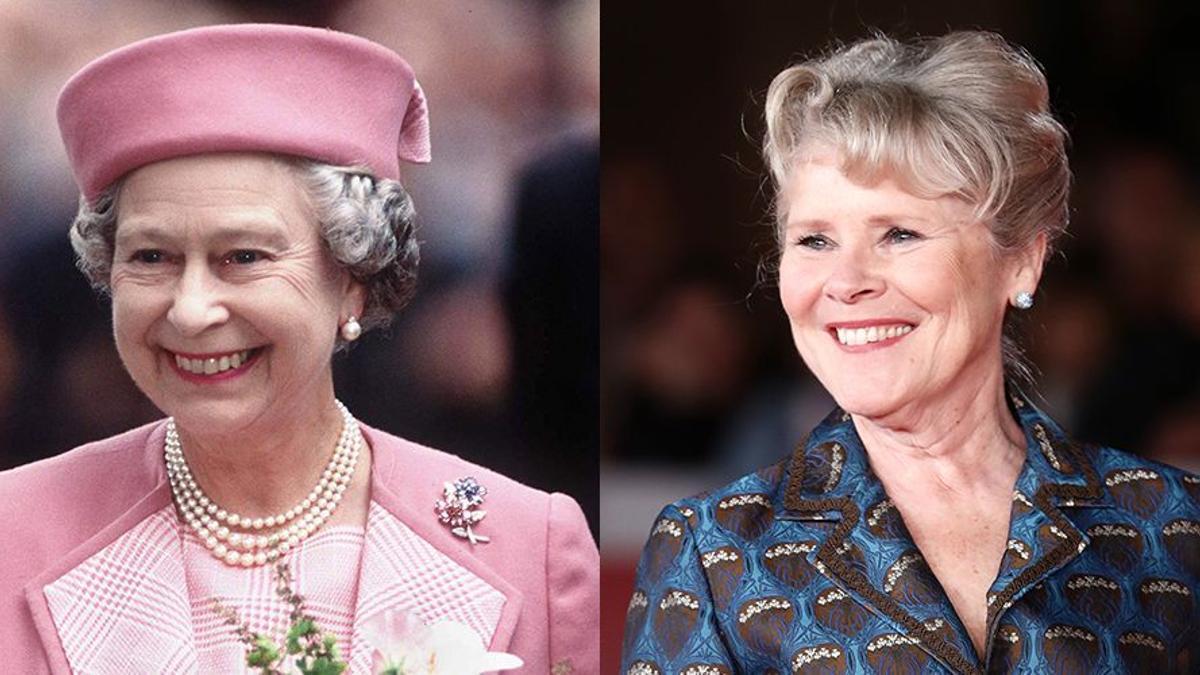 Isabel II e Imelda Staunton
