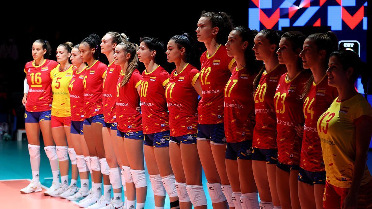 Selección española femenina de voleibol