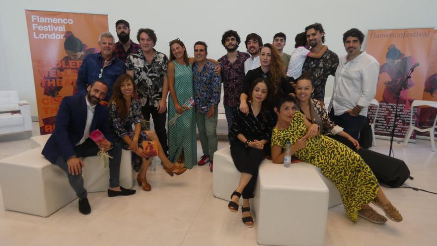 Presentación del Flamenco Festival de Londres