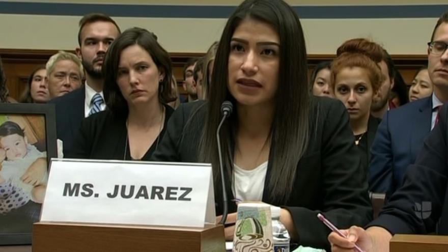 Yazmin Juarez.