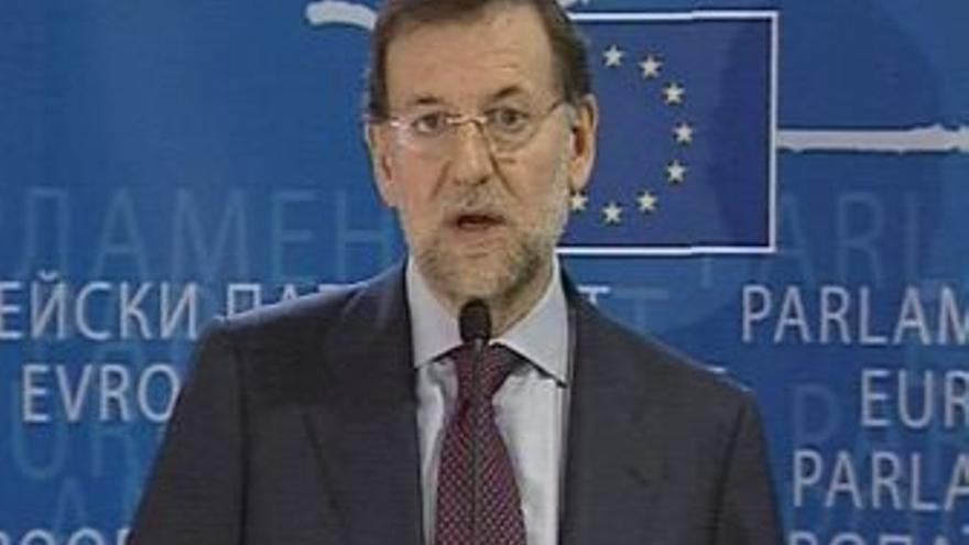 """Rajoy:""""sólo interesa su disolución"""""""