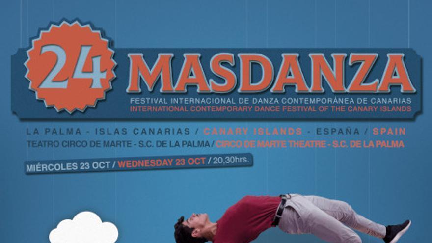 Cartel de lFestival Internacional de Danza Contemporánea de Canarias, Masdanza,