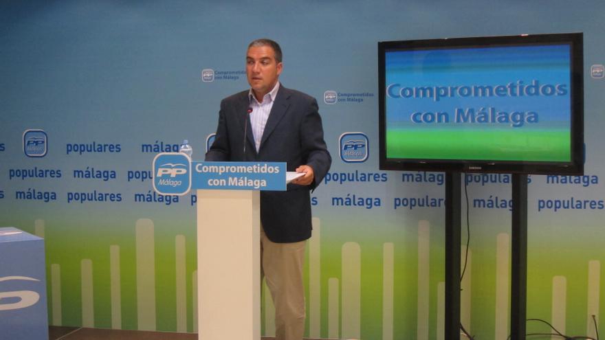 """Bendodo (PP-A) afirma que """"hay avances"""" en la elección del candidato a la Junta andaluza, pero """"no novedades"""""""