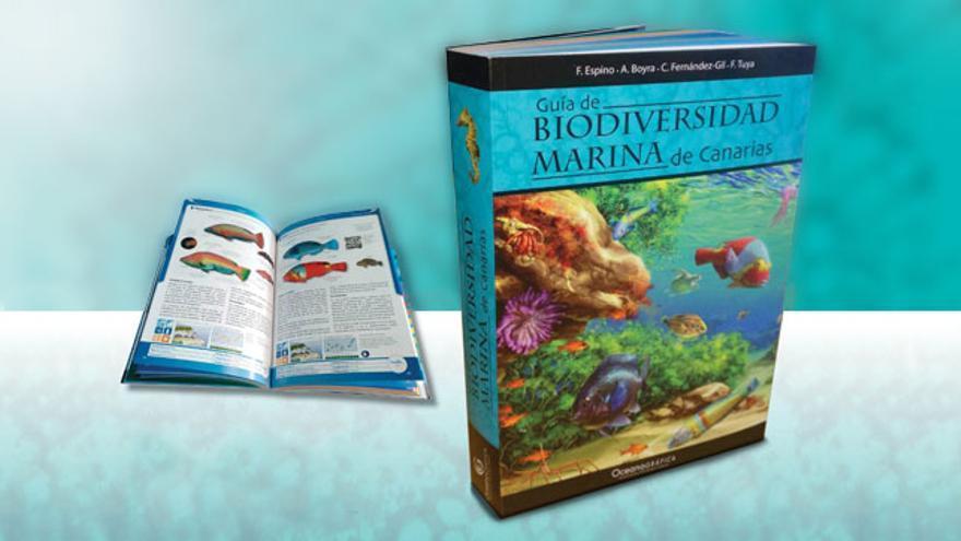 Guía de biodiversidad marina de Canarias.