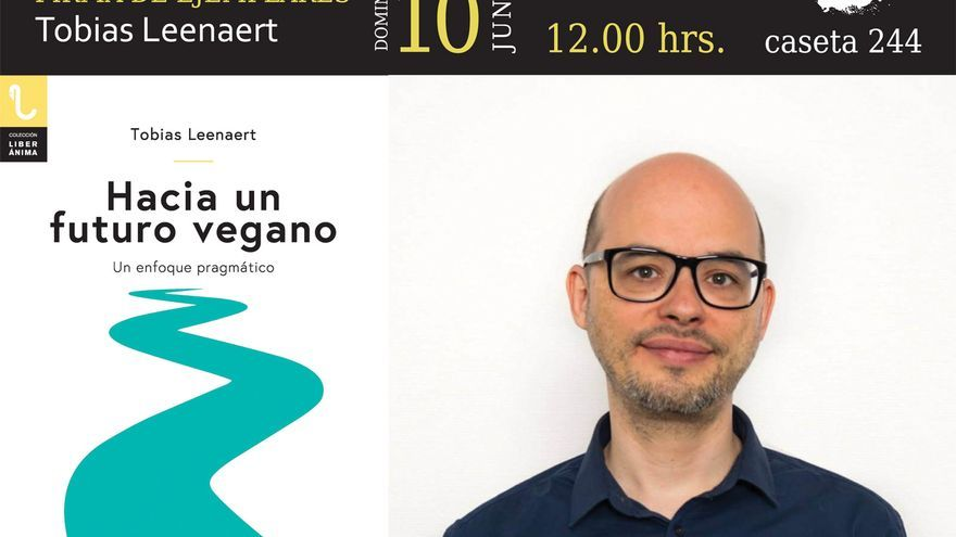 Tobias Leenaert presenta en Madrid su libro 'Hacia un futuro vegano', publicado por Plaza y Valdés Editores