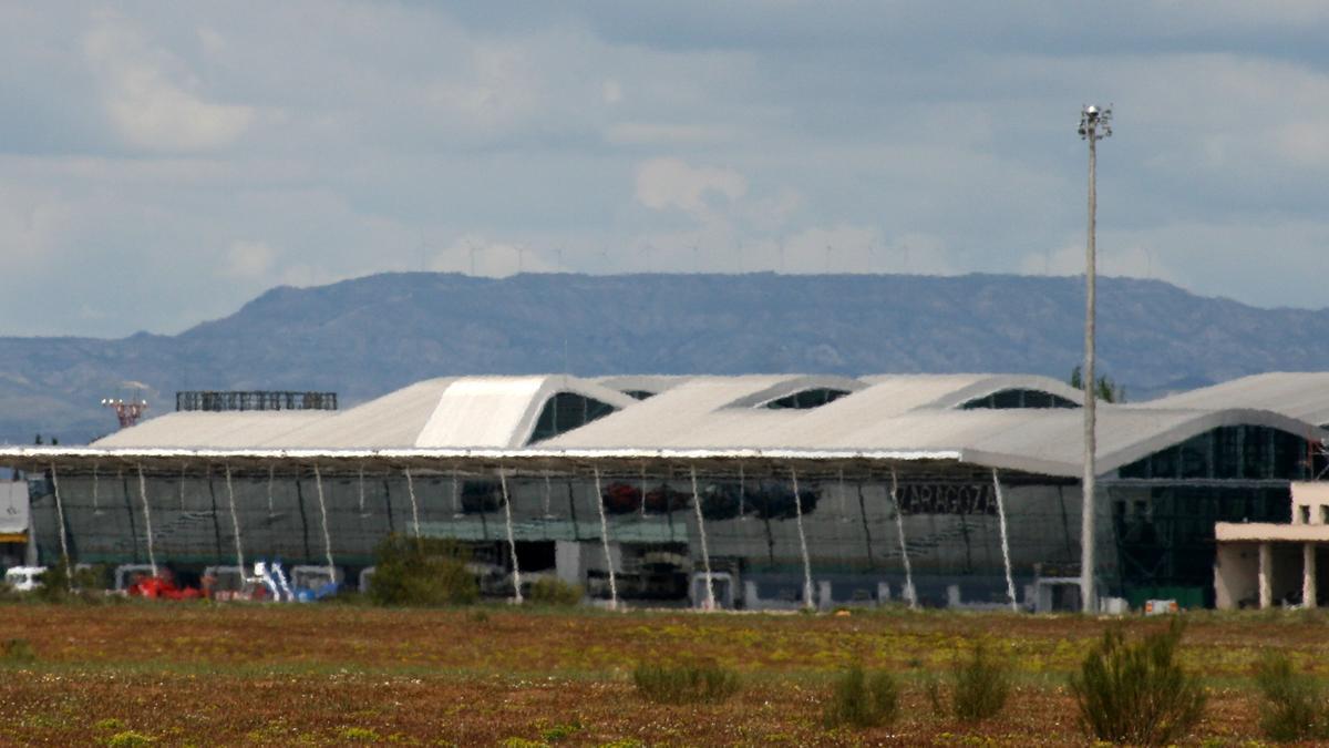 Aeropuerto de Zaragoza / FOTO: Javier Ortega