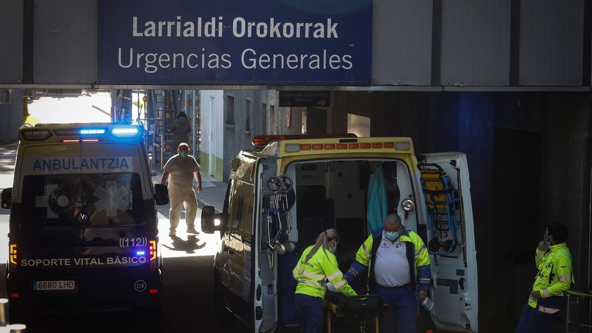 Vista del Hospital Donostia de San Sebastián