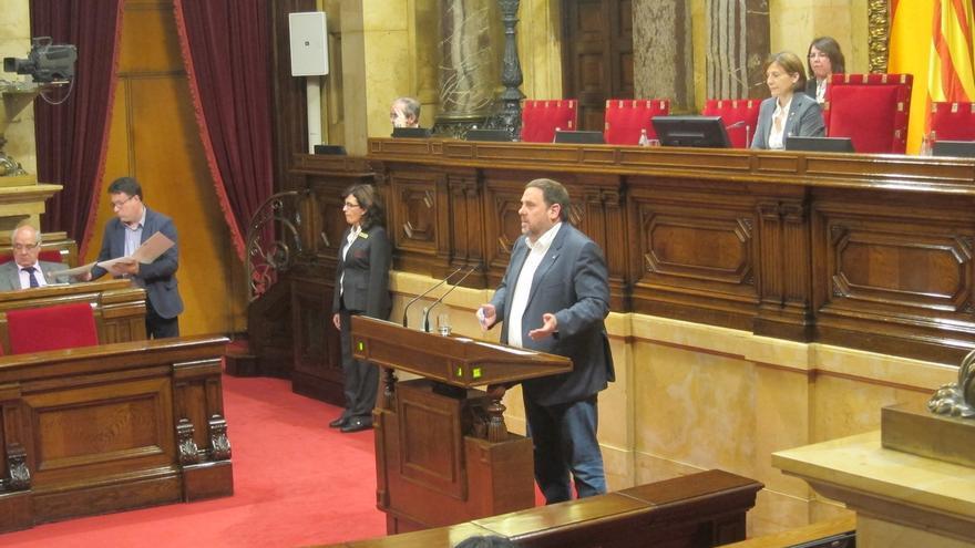 El vicepresidente catalán, Oriol Junqueras, se abre a realizar una auditoria ciudadana de la deuda de la Generalitat