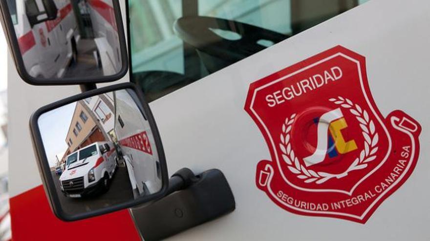 Furgón de Seguridad Integral Canaria.