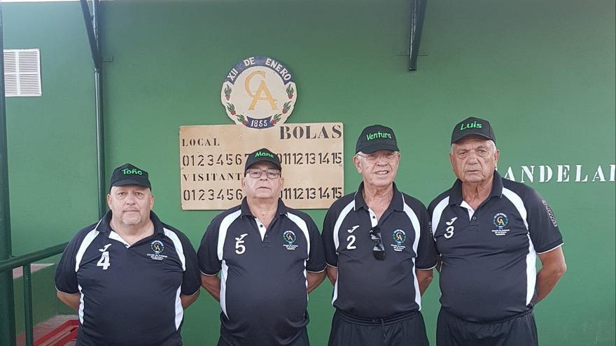 El Círculo de Amistad es un clásico en la competición insular de bola canaria