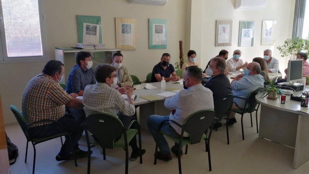 Mesa del ovino en Córdoba