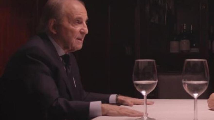 El periodista José María García, en Salvados