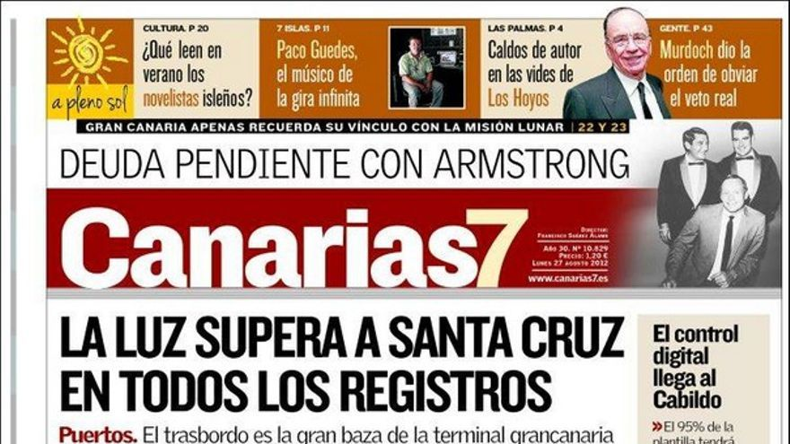 De las portadas del día (27/08/2012) #1