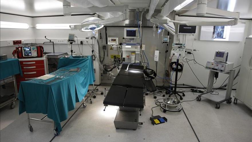 """El Niño Jesús abre una sala de trasplantes de médula financiada con la película """"Maktub"""""""