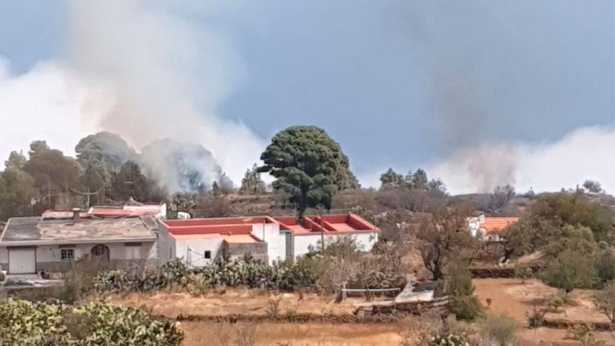 Controlado con medios terrestres un conato de incendio en El Hierro