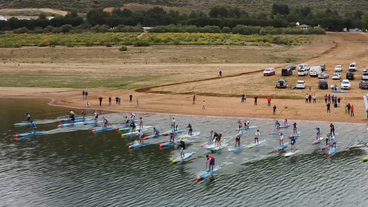 Imagen de la jornada de 'Paddle Surf' en Córdoba.
