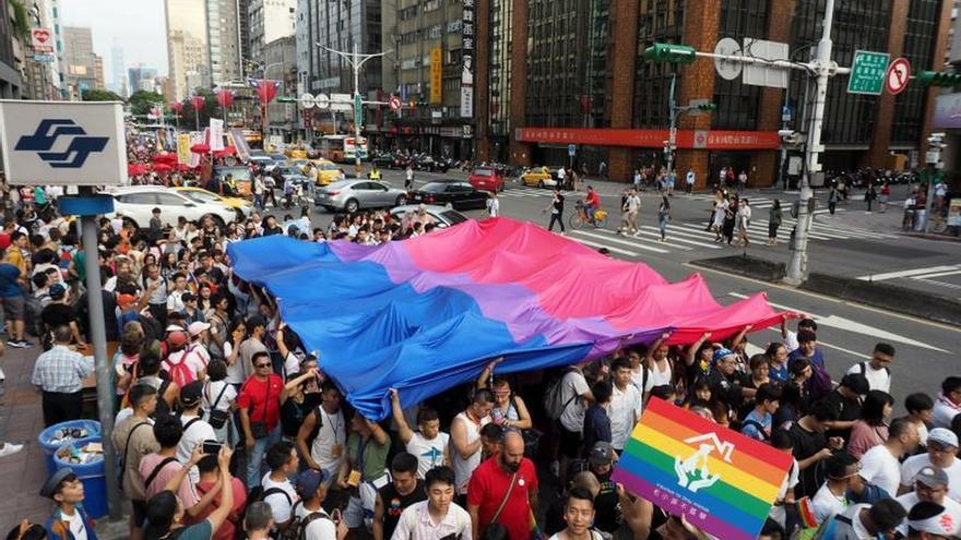Unas 200.000 personas marchan en Taipei en el Orgullo más icónico de Asia
