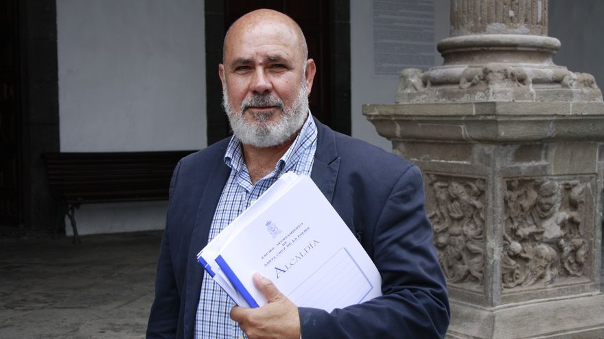 Julio Felipe, concejal de Economía y Cuentas del Ayuntamiento de Santa Cruz de La Palma.