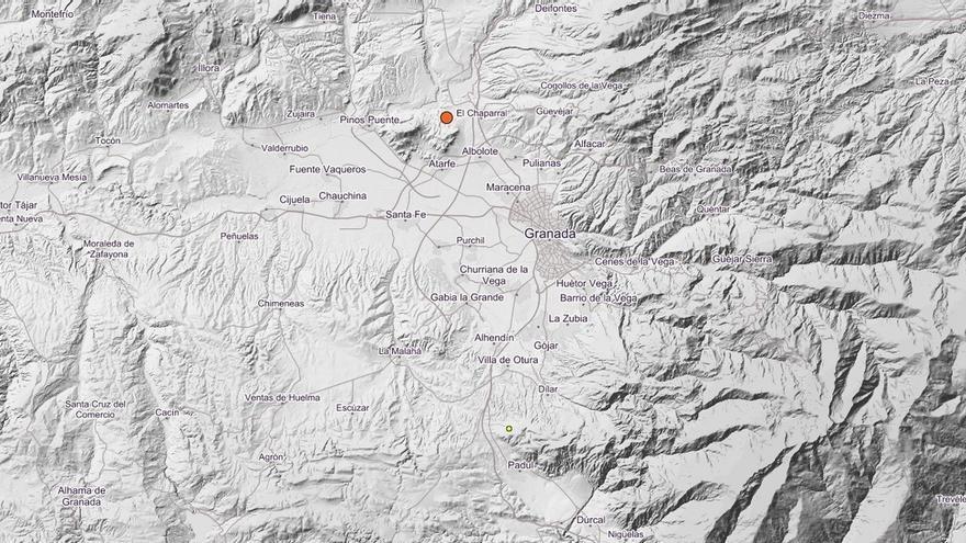 Registrado un terremoto de magnitud 3,6 con epicentro en Albolote