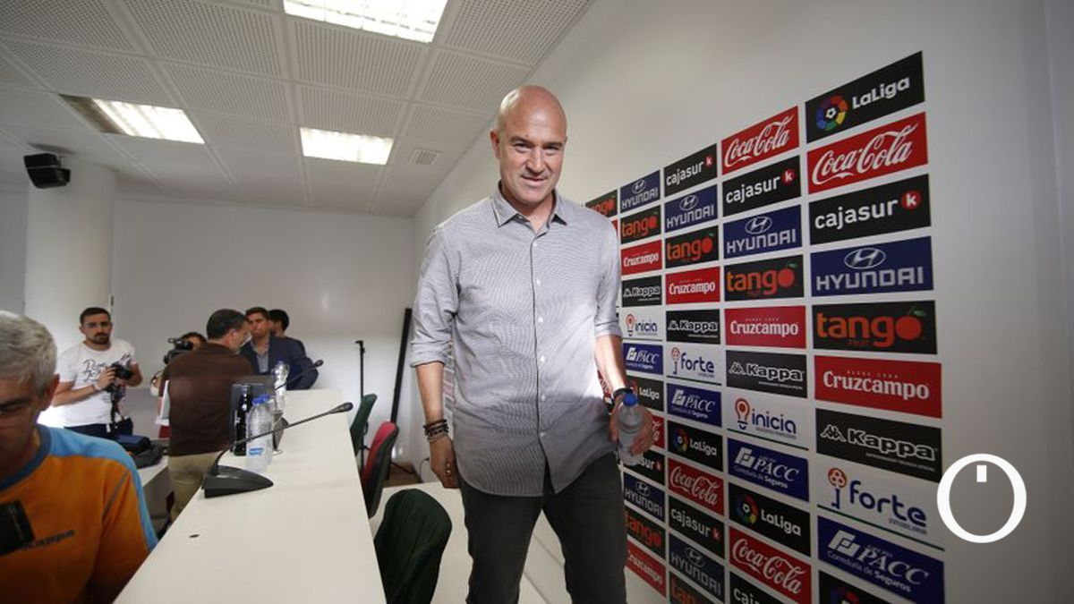 Rafa Berges, en su etapa como director deportivo del Córdoba