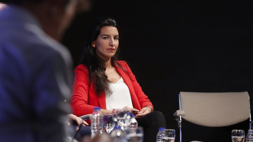 Rocío Monasterio en el debate de los candidatos a la presidencia de Madrid organizado por la Cadena SER.