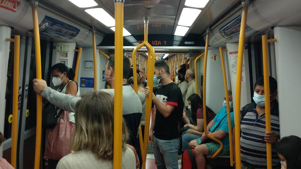 Vagón metro madrid