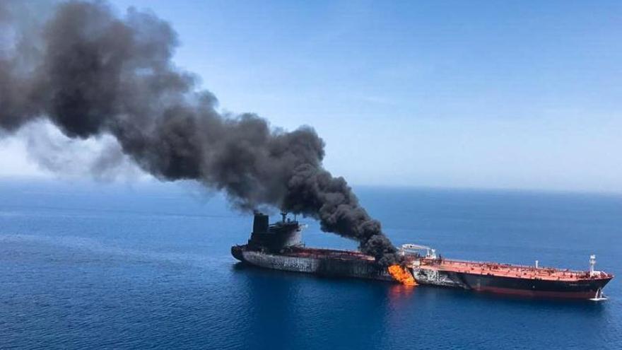 El Kremlin dice que el incidente en el golfo de Omán puede desestabilizar la economía mundial