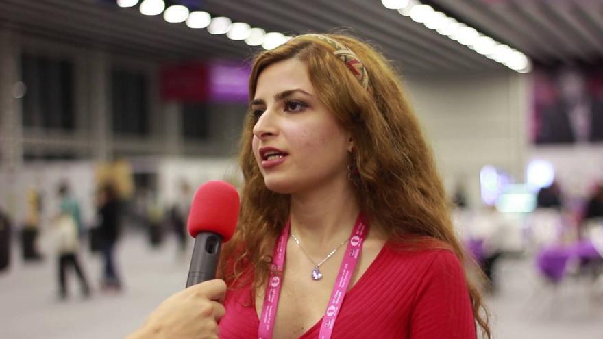 Derakhshani es la segunda mejor jugadora de Irán.