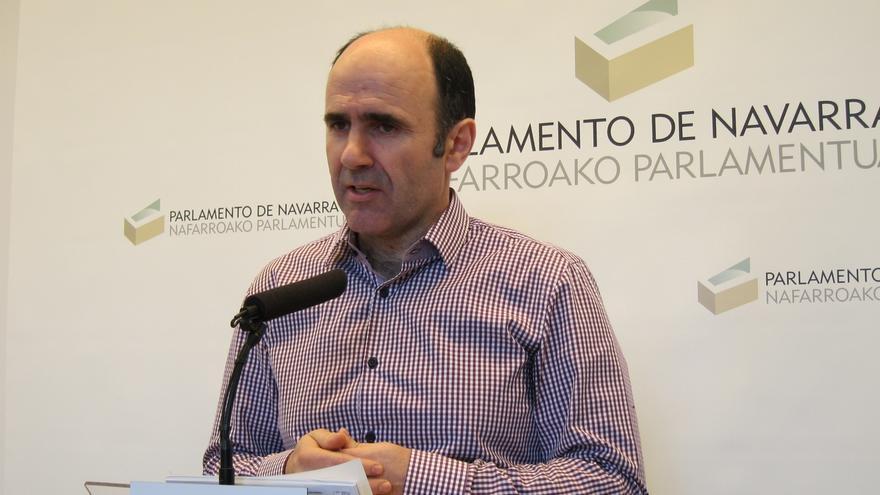 """Ayerdi cree que el acuerdo entre Geroa Bai, EH Bildu, Podemos e I-E """"traslada la fortaleza de los cuatro partidos"""""""