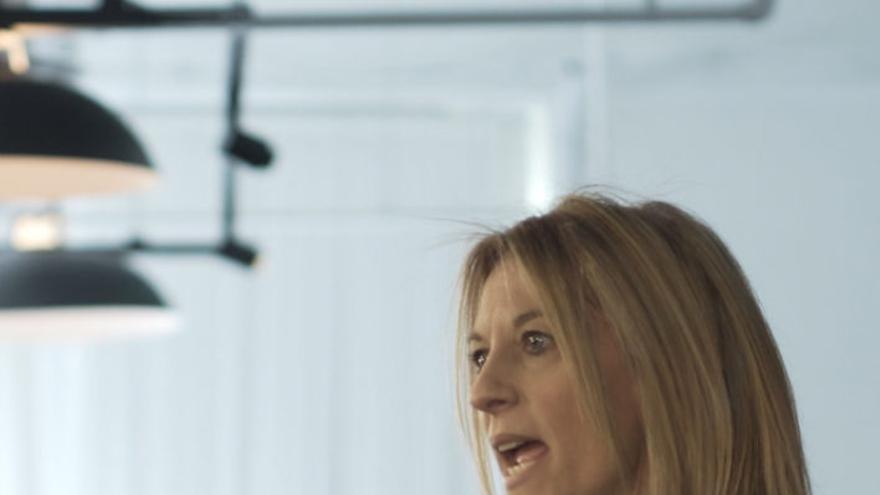 Stephanie Kelton, durante una conferencia.