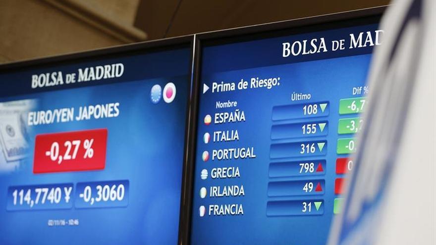 La prima de riesgo española sube a 108 puntos básicos en la apertura