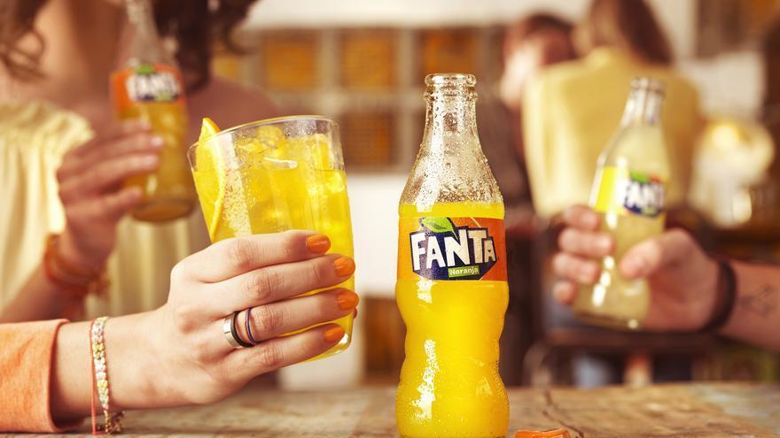 El innovador diseño de Fanta es único en el mercado