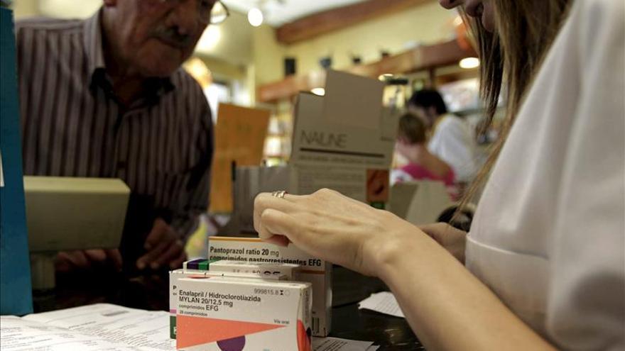 El tope máximo que los pensionistas pagan por sus medicinas sube el 1,5 por ciento