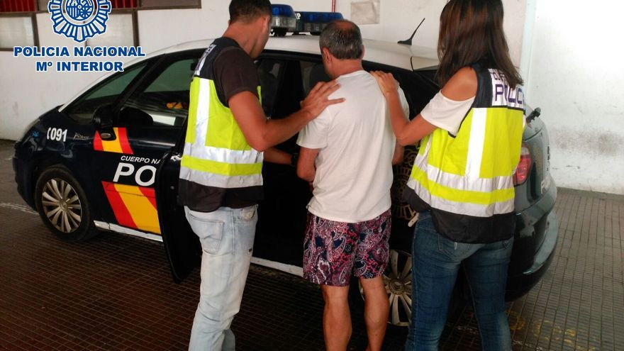 La Policía Nacional detiene en Maspalomas a un alemán reclamado por Turquía por crimen organizado