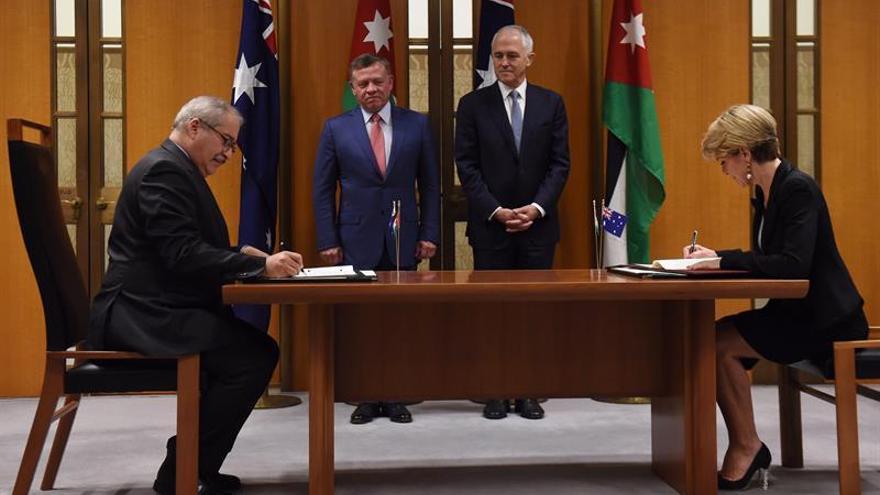 Australia y Jordania firman un acuerdo contra la financiación terrorista