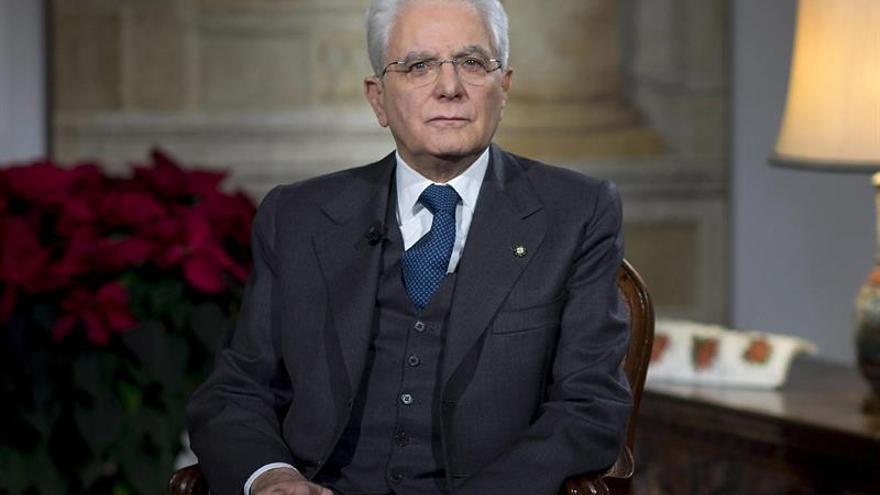 El presidente de Italia pide una ley electoral homogénea antes de ir a comicios