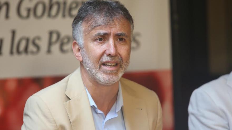 Ángel Víctor Torres, vicepresidente del Cabildo de Gran Canaria. (ALEJANDRO RAMOS)