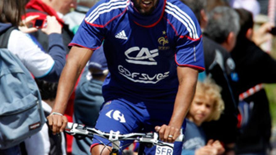 El delantero francés Nicolas Anelka