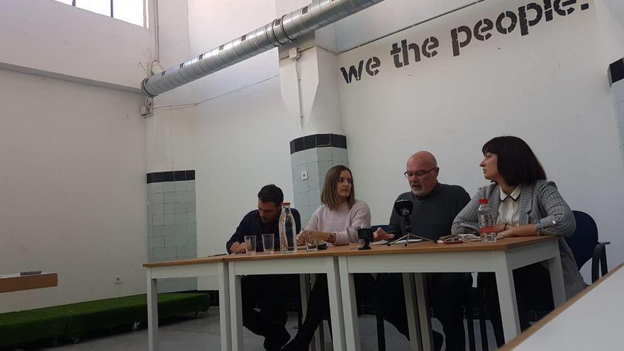 Jordi Alamán, Ángela Ballester, Mario Jordá y Carla Monleón