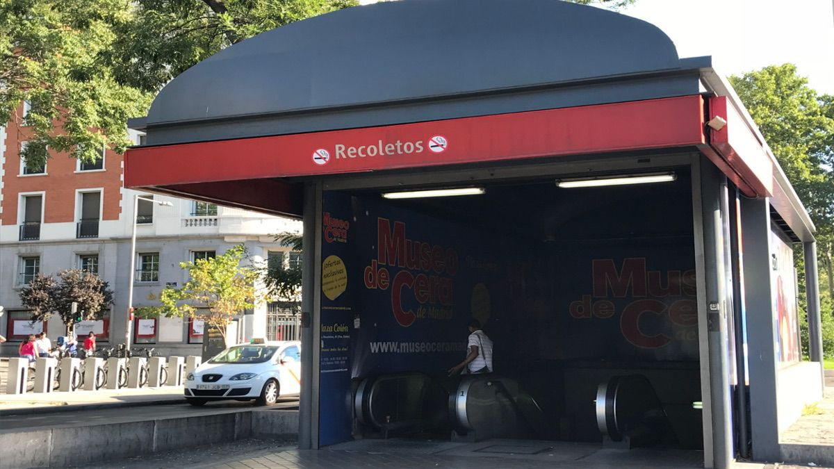 Acceso a la estación de Cercanías de Recoletos | SOMOS CHUECA
