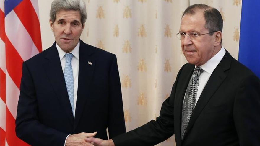 Lavrov y Kerry inician consultas para acercar posturas sobre Siria