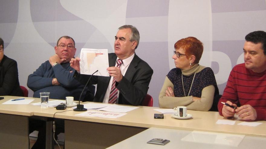 """PSOE murciano propone elecciones autonómicas coincidiendo con las europeas porque la comunidad está """"sin salida"""""""