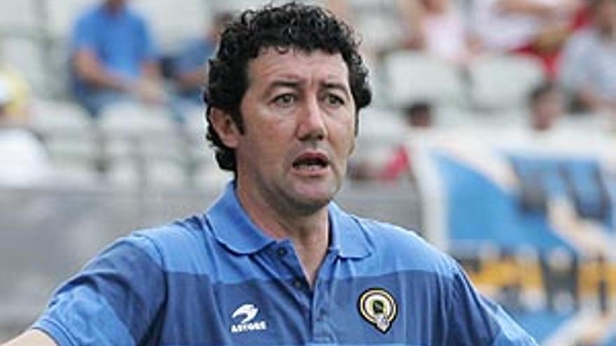 El entrenador del CD Tenerife, Juan Carlos Mandiá.