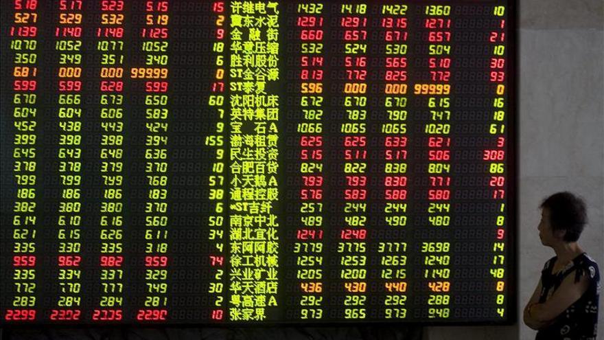 La bolsa de Shanghái gana un 0,20 por ciento al cierre